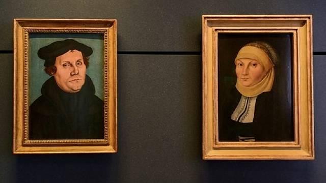 Katharina von Bora a Martin Luther uzavřeli manželství v roce 1525