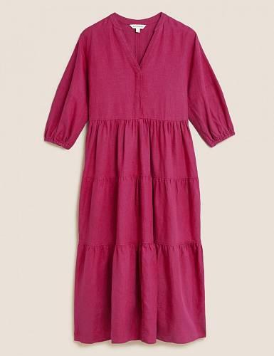 Šaty z irského lnu, Marks & Spencer, 2899 Kč