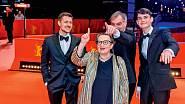Na premiéře filmu Šarlatán s představiteli hlavních rolí.