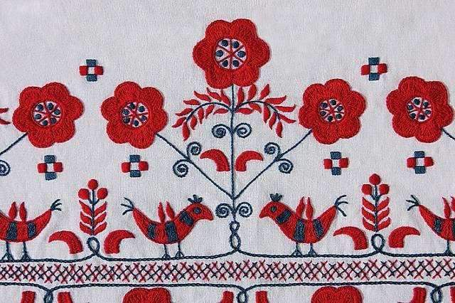 Typickými vzory jsou hlavně květiny.