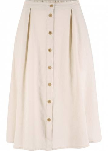 Lněná sukně, Bonprix, 599 Kč