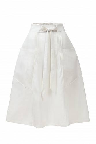 Lněná sukně, La Femme Mimi, 2500 Kč