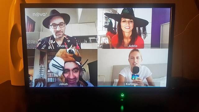 V TV show Spolu z domu.