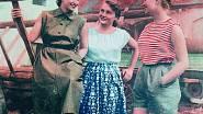 Jak se obléct na polní práce, inspirovala Žena a móda v létě 1951.
