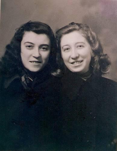 Magdalena Horetzká se sestřenicí Julií