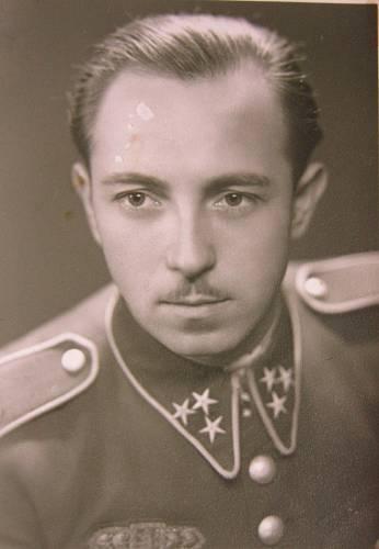 Manžel Josef Ruprecht ve vládním vojsku
