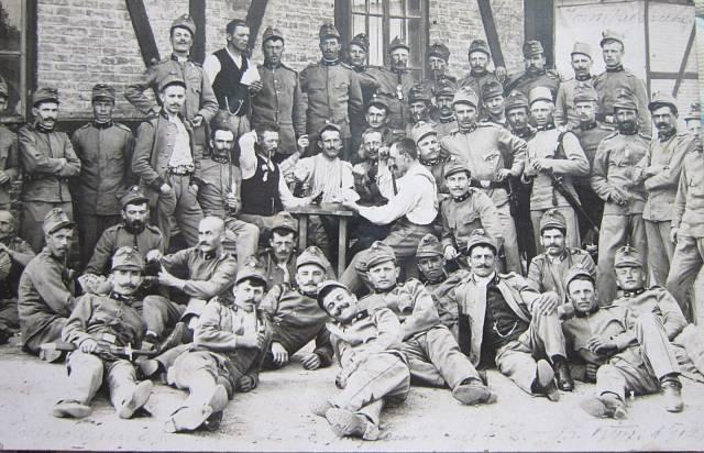 Otec Ondřej Glogar v první světové válce