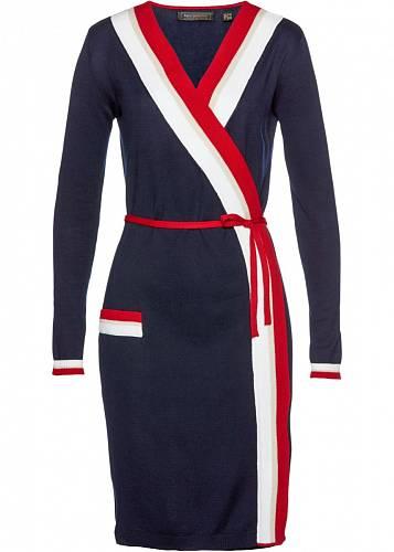 Zavinovací šaty, Bonprix, 749 Kč