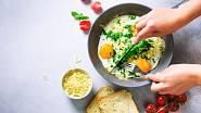 Vejce, zelenina - ideální start do nového dne