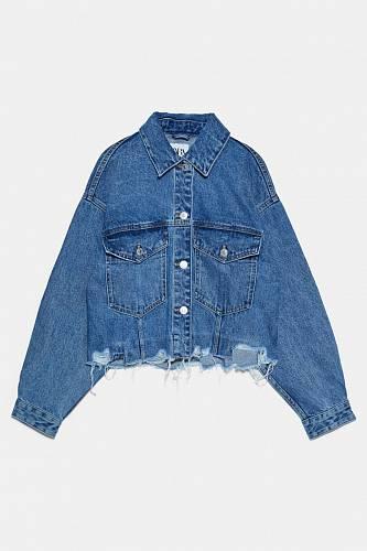 Džínová bunda, Zara, 449 Kč