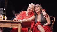 S Dagmar Peckovou v představení Carmen Y Carmen.