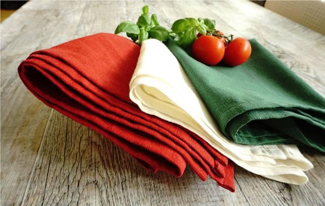 Barvy Itálie ze lněné kolekce Linen Your Life z Fleru.