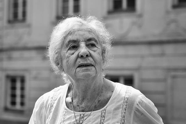 Lea Skácelová v roce 2016