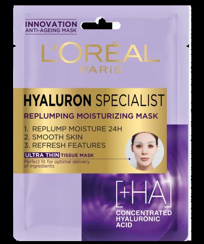 Látková maska s hloubkově vyplňujícím účinkem, L´Oreal, 120 Kč