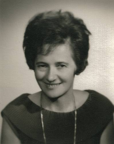 Erna Meissnerová v 50. letech