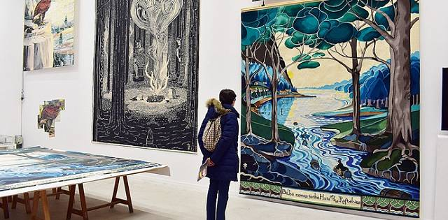 Muzeum zadává i nové projekty, jako byla například série tapisérií podle příběhu spisovatele Tolkiena.