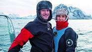 S Petrem jezdí pravidelně za kosatkami na sever Norska.