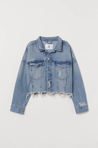 Džínová bunda, H&M, 799 Kč