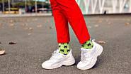Ponožky slaďte se zbytkem outfitu