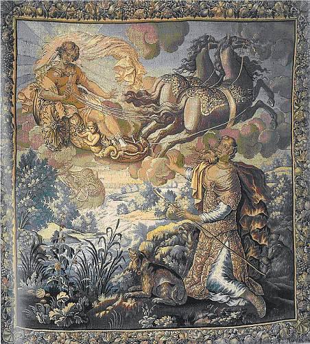 Podobné tapisérie uvidíte i na některých našich zámcích.