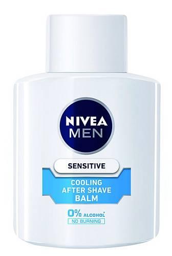 4 Balzámové pohlazení po holení – bez alkoholu, se zklidňujícím heřmánkem, Nivea, 250 Kč