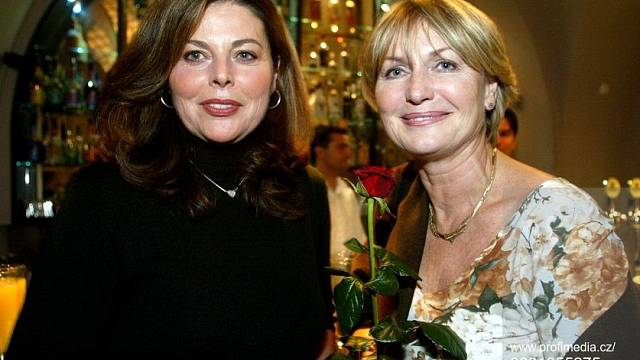 Eliška Balzerová a Andrea Čunderlíková