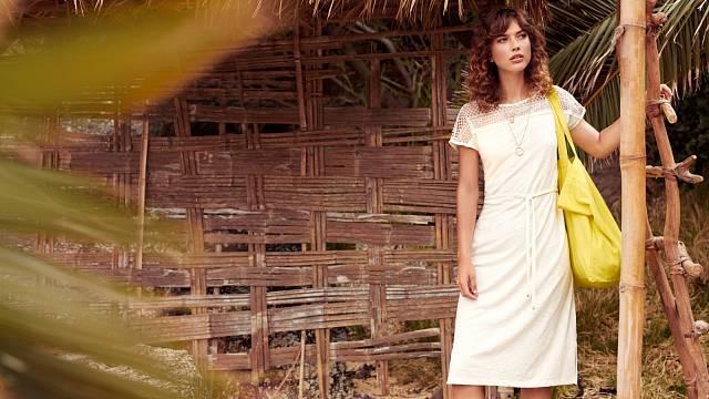 Bavlněné vycházkové šaty