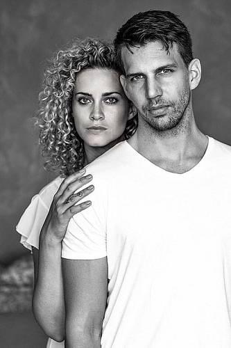 S manželem Peterem Pechou.