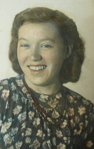 Marie Blabolilová - Matauchová - kolorovaná