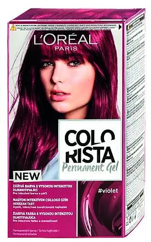 Velmi pohodlné barvení díky gelové formě, která se šikovně nanáší, Colorista L´Oréal, 139 Kč
