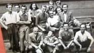 Na grafické škole (1946-1949), Eva v horní řadě uprostřed
