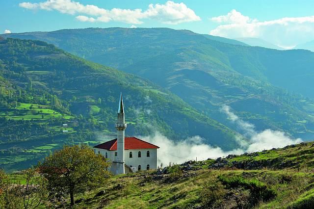 Albánské hory.