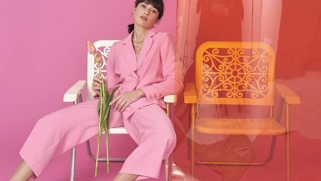 Růžový kostým, s.Oliver
