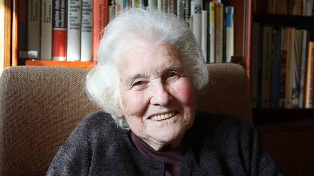 Margita Rytířová v říjnu 2009