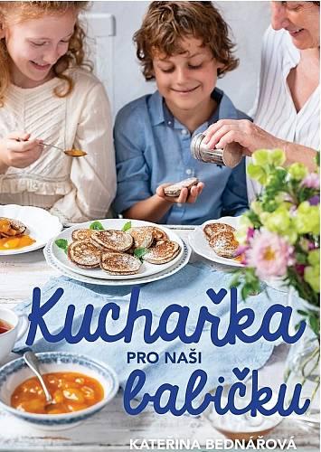 Kuchařku napsala Kateřina Bednářová a chtěla přimět obě generace ke zkoušení nových chutí. Byl to moc dobrý nápad.