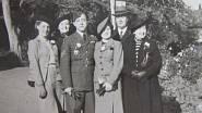 Švagr Václav Ruprecht (RAF) s anglickou rodinou