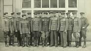 ruský důstojnický sbor ve Mšeně 1945 - Vladimír Orlov s knírem