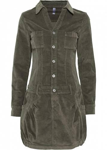 Manšestrové šaty, Bonprix, 999 Kč