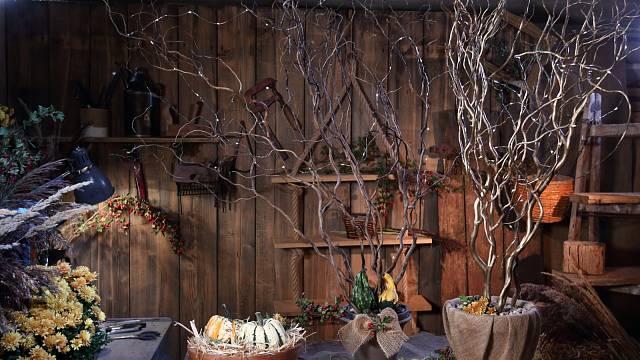 VLH podzimní dekorace