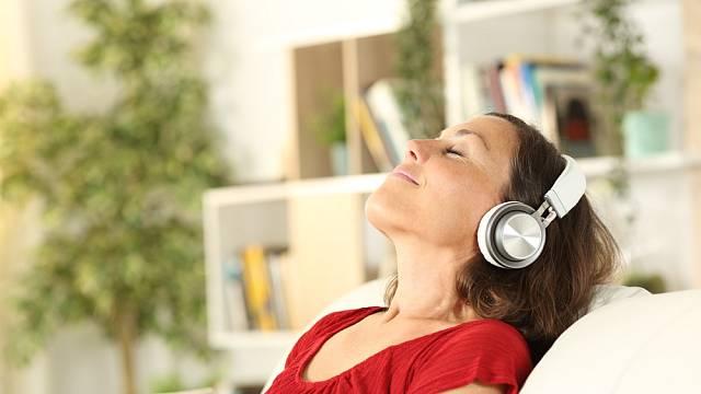 Relaxujte, muzika je na to ideální