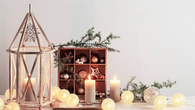 Minimalistická vánoční výzdoba