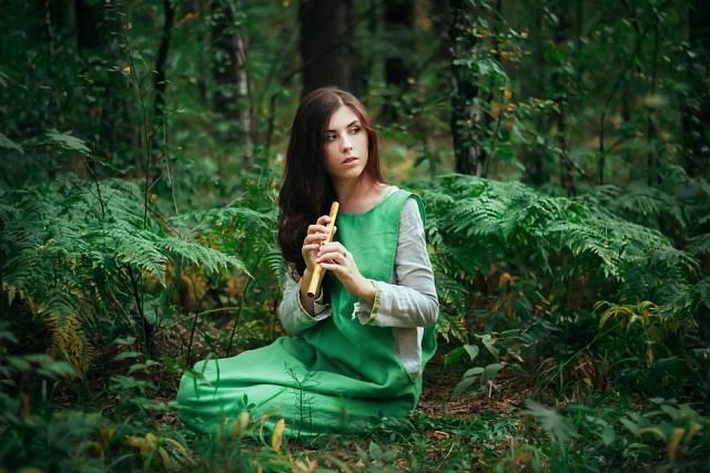 Píšťalkou pohanští předkové oslavovali lesní bytosti a přivolávali jejich kouzla