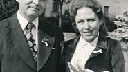 Svatba s druhým manželem Jiřím Žádníkem v roce 1979