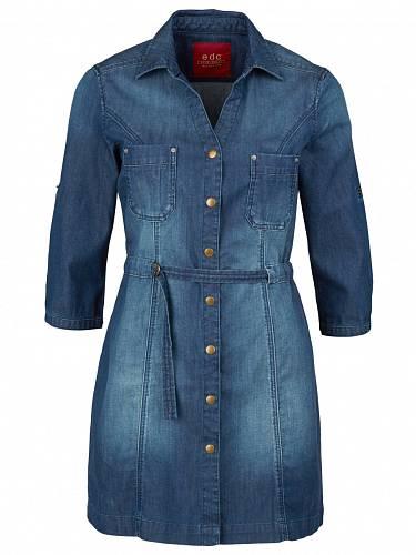 Džínové šaty, Esprit, 999 Kč