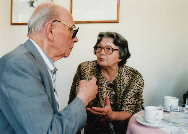 Setkání s Jiřím Kolářem v Savoyi (1995)