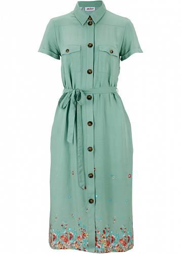 Košilové šaty, Bonprix, 629 Kč