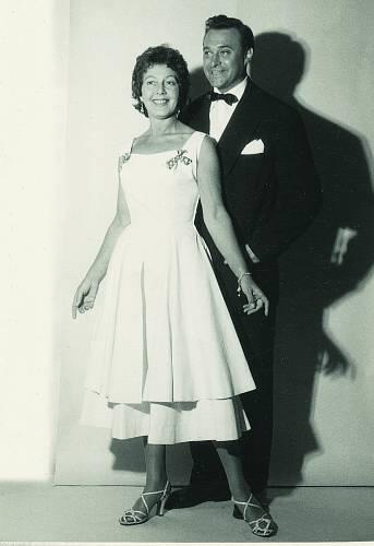 Často s ním vystupovala Ljuba Hermanová.