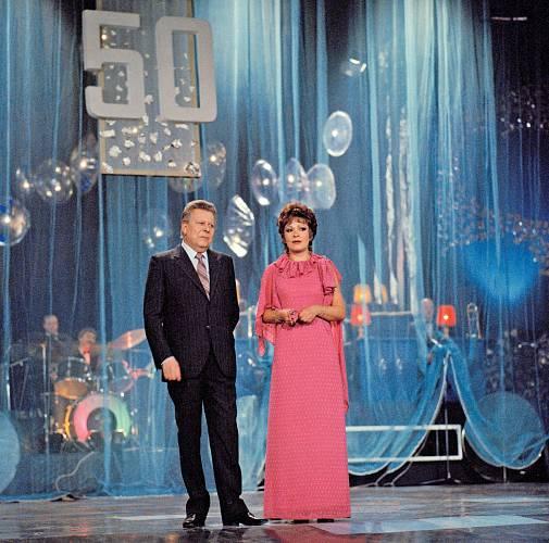 Pořad Televarieté byl ve své době jeden z nejpopulárnějších.