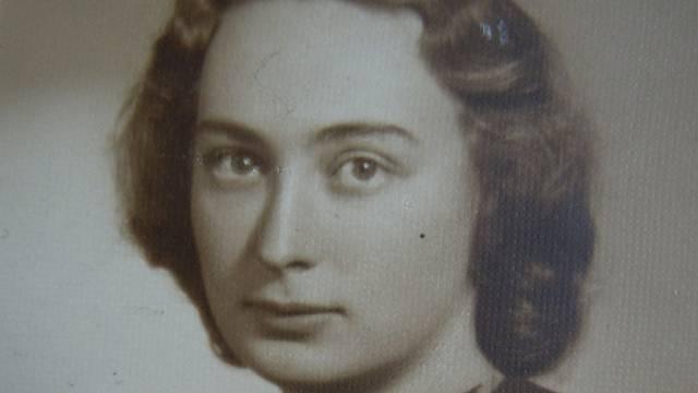 Jarmila Weinbergerová v roce 1941