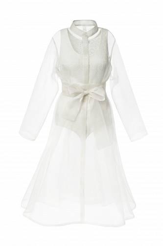 Hedvábný kabát, La Femme Mimi, 7000 Kč